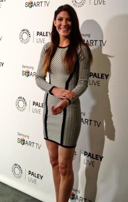 American actress, Jennifer Carpenter at Paley Center....