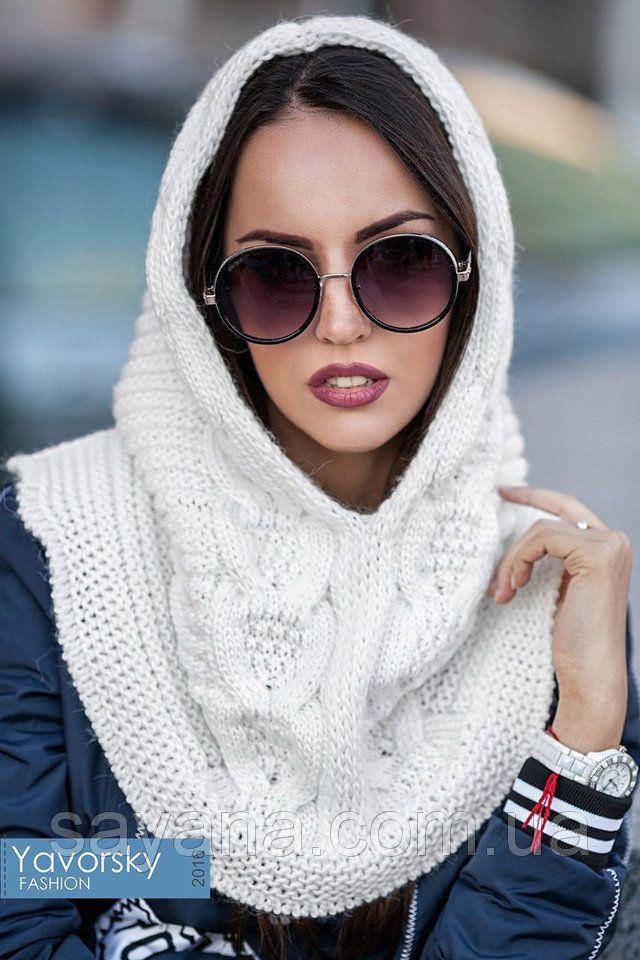 Купить Женский модный вязаный капор, в расцветках от производителя в Sayana