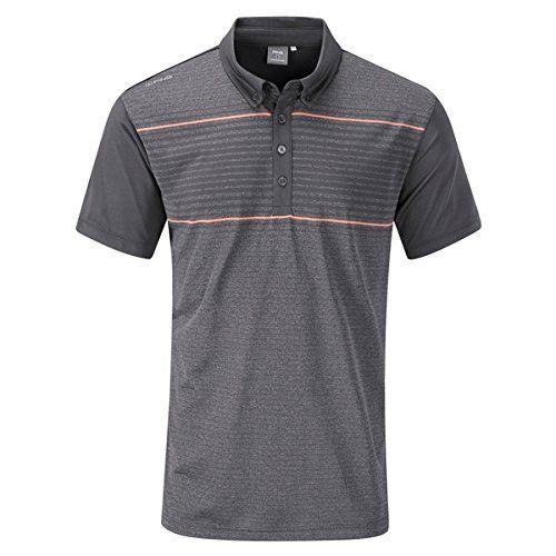 (ピング) Ping メンズ トップス ポロシャツ Ping Jonas polo 並行輸入品  新品【取り寄せ商品のため、お届けまでに2週間前後かかります。】 カラー:グレー 素材:100% Polyester