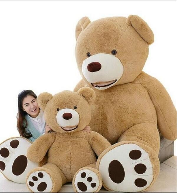 Huge Size 160cm USA Giant Bear Skin Teddy Bear Hull , Super Quality ,Wholesale Price