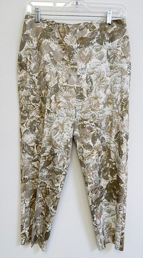 119.99$  Buy here - http://viovk.justgood.pw/vig/item.php?t=lg2nwg56967 - New Piazza Sempione sz 42 Audrey Cotton Pants $545 retail