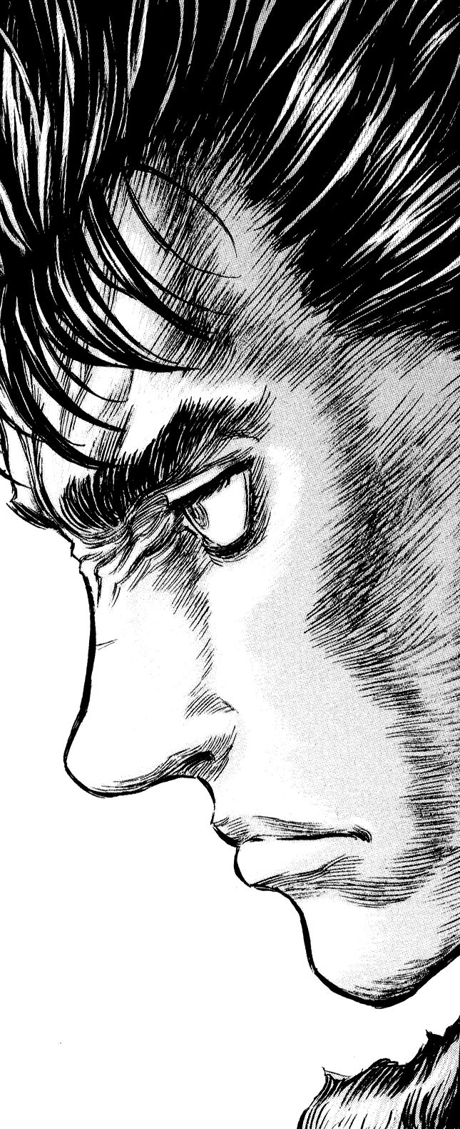 Berserk - Guts (a.k.a. the most bad-ass and awesome protagonist ever!) Btw words can't  describe, just how much I love the artwork by Kentaro Miura <3
