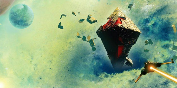 No Man's Sky Game Informer Centre Universe