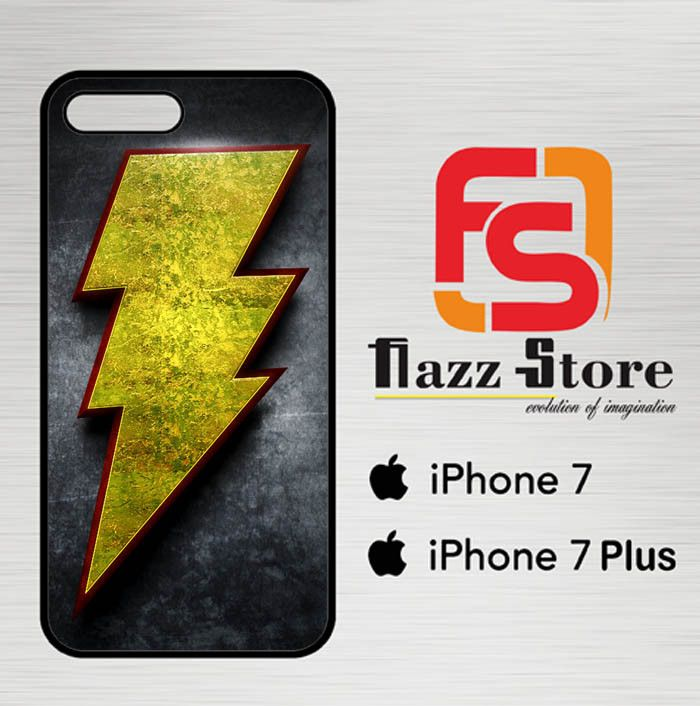 Captain Shazam Superhero LOGO Y0649 iPhone 7 Plus| 7 Plus Case