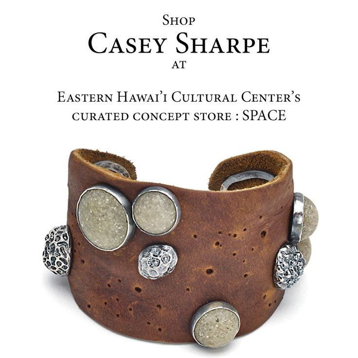 I'm pleased to announce that my work is now available in Hawai'i!  You can now shop a selection of pieces at SPACE is a curated concept store within the East Hawai'i Cultural Center in Hilo, Hawai'i
