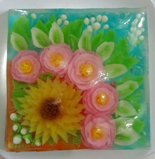 Jelly pengganti cake ultah