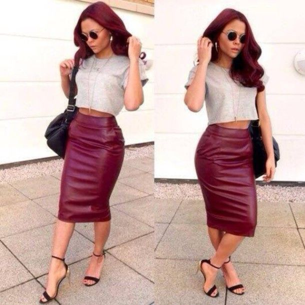 63 best images about LONG/SHORT PENCIL SKIRTS on Pinterest ...