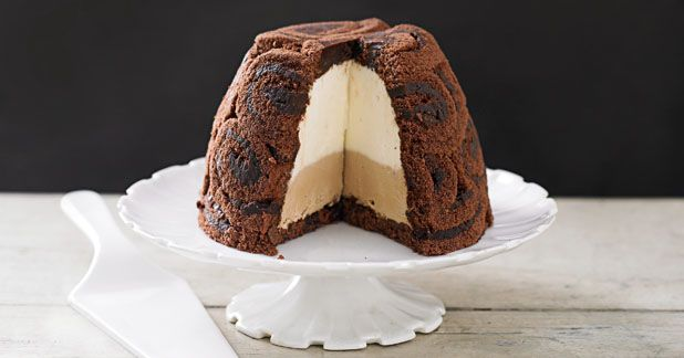 This is a great show-off dessert that is surprisingly easy to make and tastes as good as it looks. Grown-upsonly! 40 minutes + freezing Serves 8 Easy groundnut oil chocolate swiss roll or roulade 2 small or 1 large one marsala 3 tbsp mascarpone 250g tub sweetened condensed milk 200ml double cream 150ml vanilla extract …