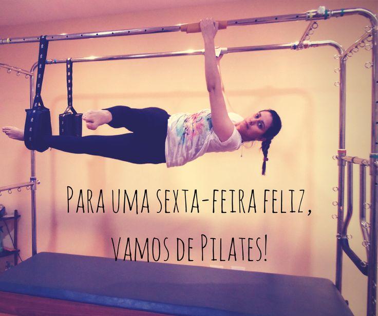 Vamos de #pilates! Sempre!