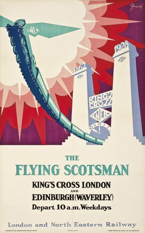 London & North Eastern Railway: The Flying Scotsman, Greiwurth, 1928