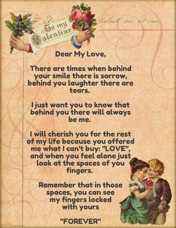 cute love letters for him from the heart