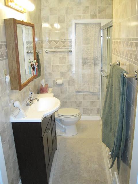 Images Photos Upgrade bathroom Space saver sink unit Extra narrow for smaller spaces ohgraciepie