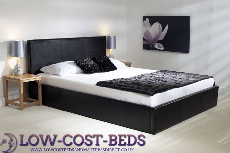 6ft Superking Black Ottoman Frame - £649.95 - This superb black ottoman bed in may appear to look similar to other designs out there but is clearly made to a very high standard, it features from a deep padded headboard and foot board and side rails, high quality frame with deep internal storage area with heavy duty fabric finished bottom to keep the storage items away from the floor.