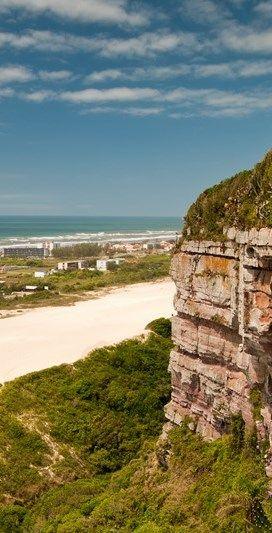 Beach of Morro dos Conventos, Ararangua city, state of Santa Catarina, Brazil.