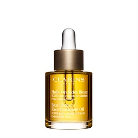 Clarins face oil.  I love to slather this on at night and the scent is super relaxing.