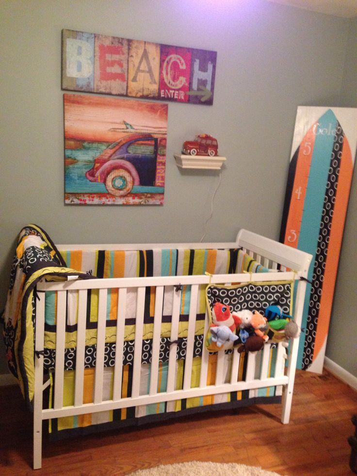 1000 images about nursery ideas on pinterest surf for Surf nursery ideas