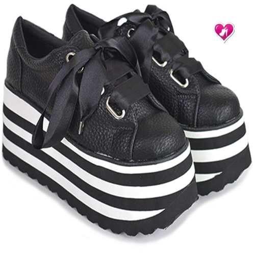 e82f3e9ac109 Zapatillas Sneakers Mujer Plataformas Otoño Invierno 2018 - $ 1.250 ...
