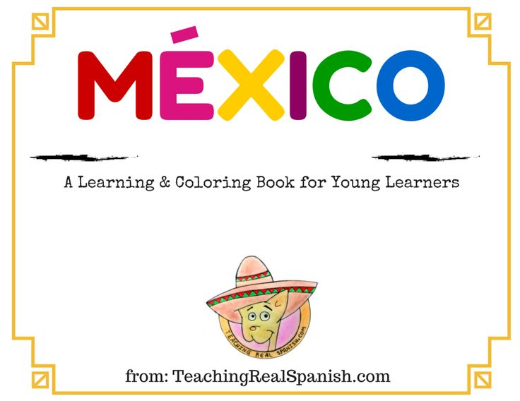 Coloring Pages For Young Learners : Best teachingrealspanish images on pinterest