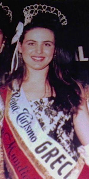 1989 Reina Del turism Mundial - Vicky Geothodorou