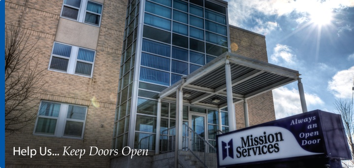 Men's Mission on York Street. Yes, they  provide much needed emergency shelter for those who struggle with poverty and homelessness - but the food there is great too!