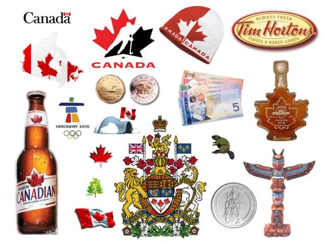 Canadian symbols and things