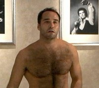 Jeremy Piven Shirtless and Hairy