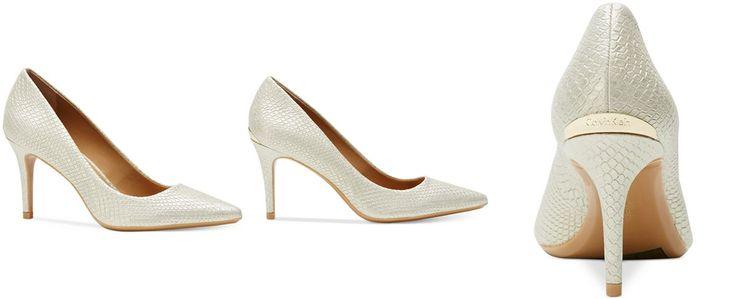 Calvin Klein Women's Gayle Pointed-Toe Pumps - Pumps - Shoes - Macy's