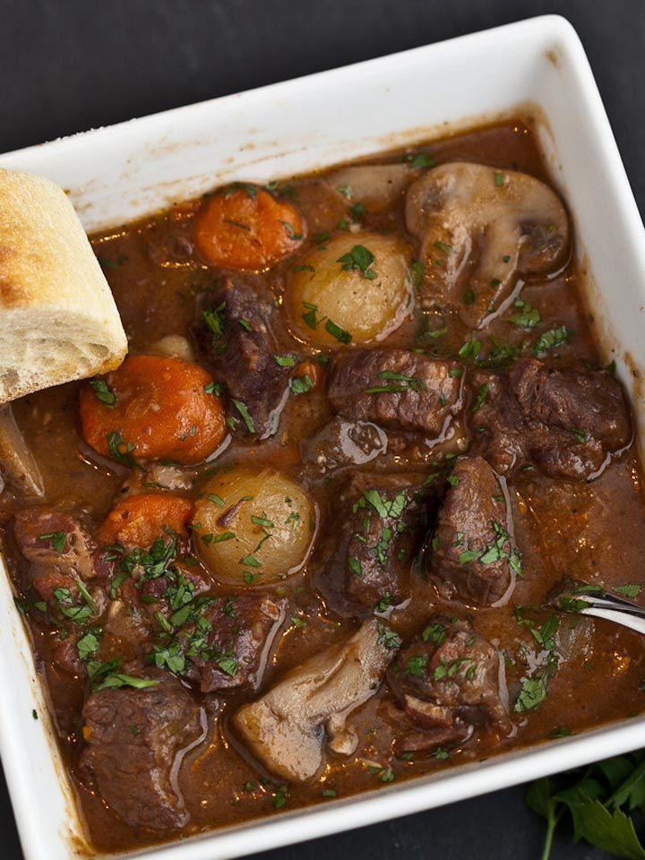 Boeuf Bourguignon - French Beef Stew