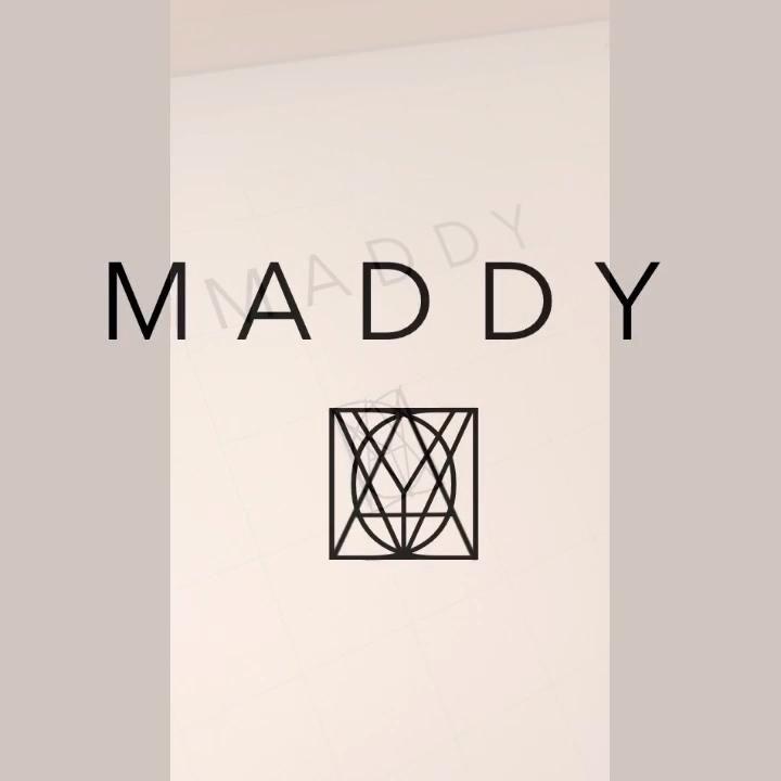 Tiktok Name Logo Challenge Maddy Video Logo Design Trends Minimal Web Design Logo Design Typography