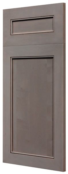 Georgetown Maple Weathered Slate Toulmin Cabinetry and Design