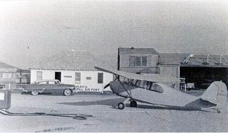Old Picture of The Hays Regional Airport -- Hays, KS