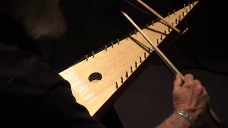 """Water Is Wide"" - Bowed Psaltery With 2 Bows - YouTube"