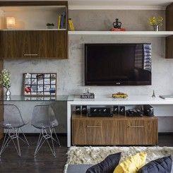 17 apartamentos pequenos para você se inspirar