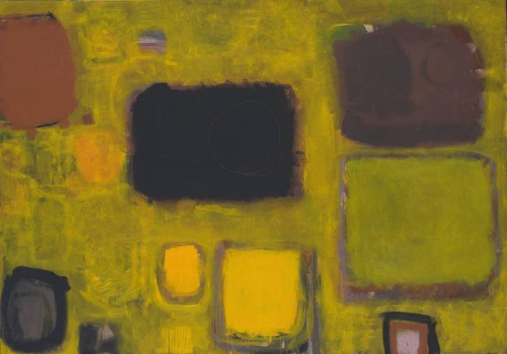 "Style ""Post-Painterly Abstraction"" - WikiArt.org - Patrick Heron, Yellow Painting: October 1958 May/June 1959, 1959."
