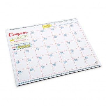Ímã Calendário Listas e Compromissos
