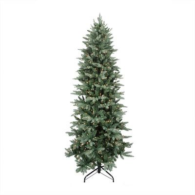 Northlight Seasonal 9' Washington Frasier Fir Slim Artificial Christmas Tree with Clear Lights