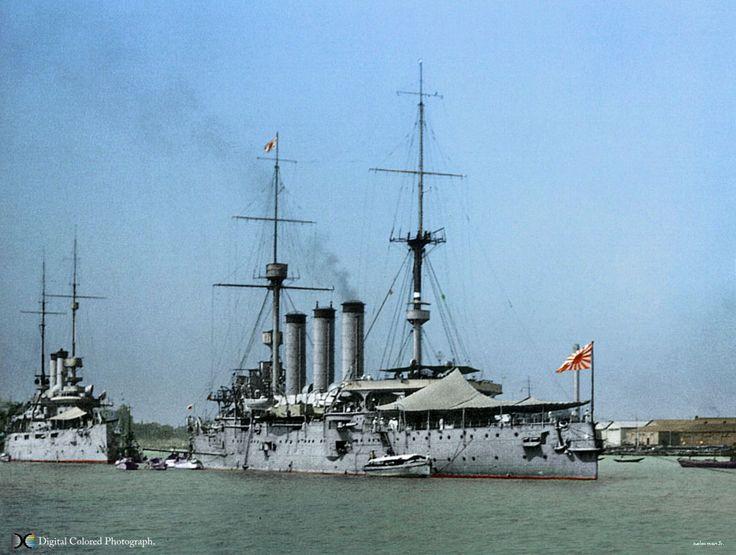 出雲型装甲巡洋艦