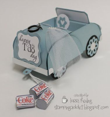 Wedding / Anniversary Convertible Gift Card Holder :: Confessions of a Stamping Addict