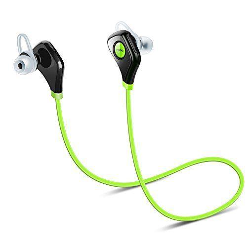 Aoso S5 Sports Casque sans fil Bluetooth Casque stéréo avec écouteur sans fil à l'épreuve de la transpiration Compatible avec l'iPhone…