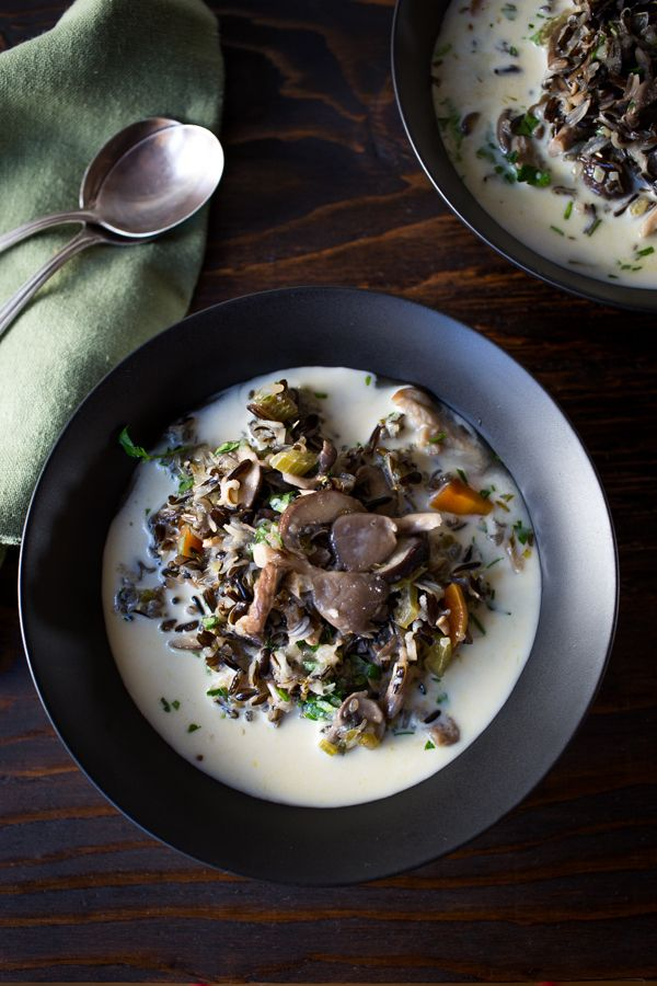how to cook oyster mushrooms in soup