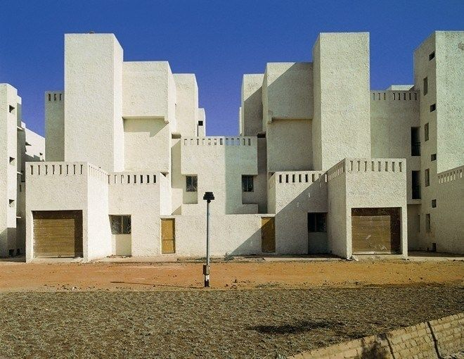 Raj Rewal Associates. Sheikh Sarai Housing, New Delhi, 1970