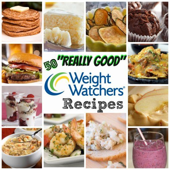 """Here are 50 """"Really GOOD"""" Weight Watchers Foods Recipes!  I've only listed the TOP RECIPES that have rated really well!!!"""