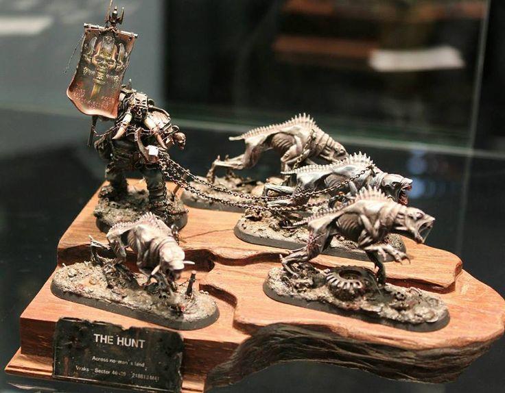 Warhammer 40k   Chaos Renegades   Ogryn (?) #warhammer #40k #40000 #wh40k #wh40000 #warhammer40k #gw #gamesworkshop #wellofeternity #miniatures #wargaming #hobby #tabletop