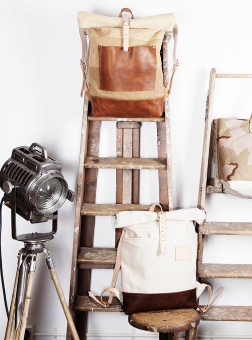 old wooden ladder use?