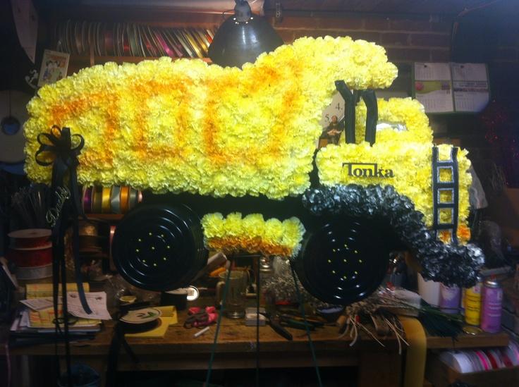 Funeral Flower Truck