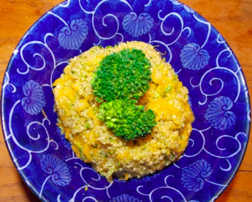 Broccoli Cheddar Quinoa | Main Ingredient: Love | Pinterest