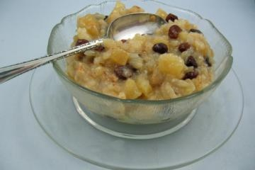 Apple Rice Pudding for a Rice Cooker   Baking
