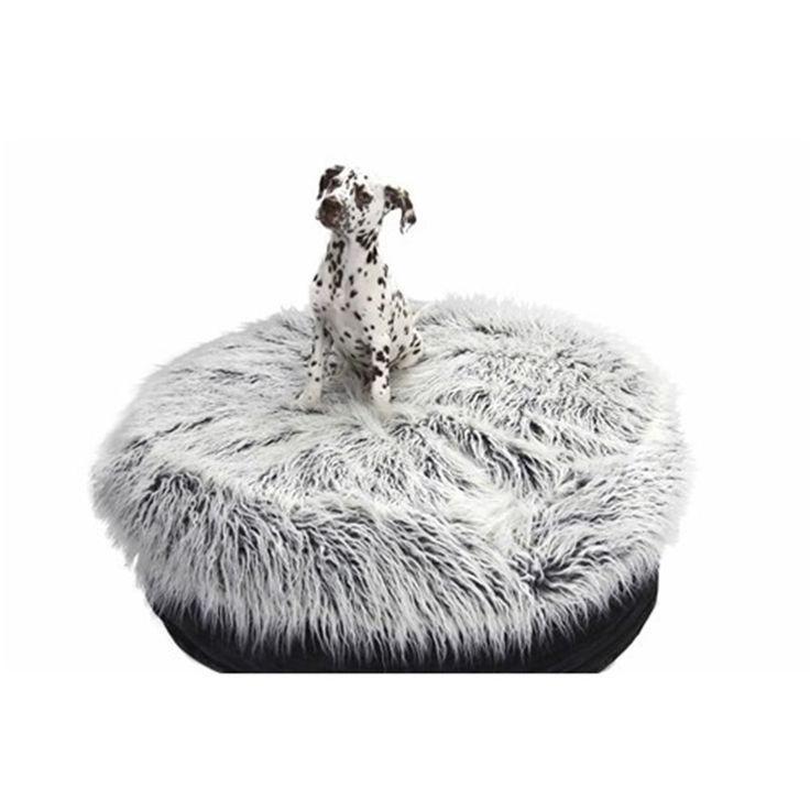 T & S Nordic Plush Cosy 95 x 95 x 28cm | Dog Beds - House