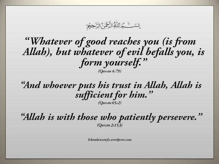 Beautiful Quotes form Quran