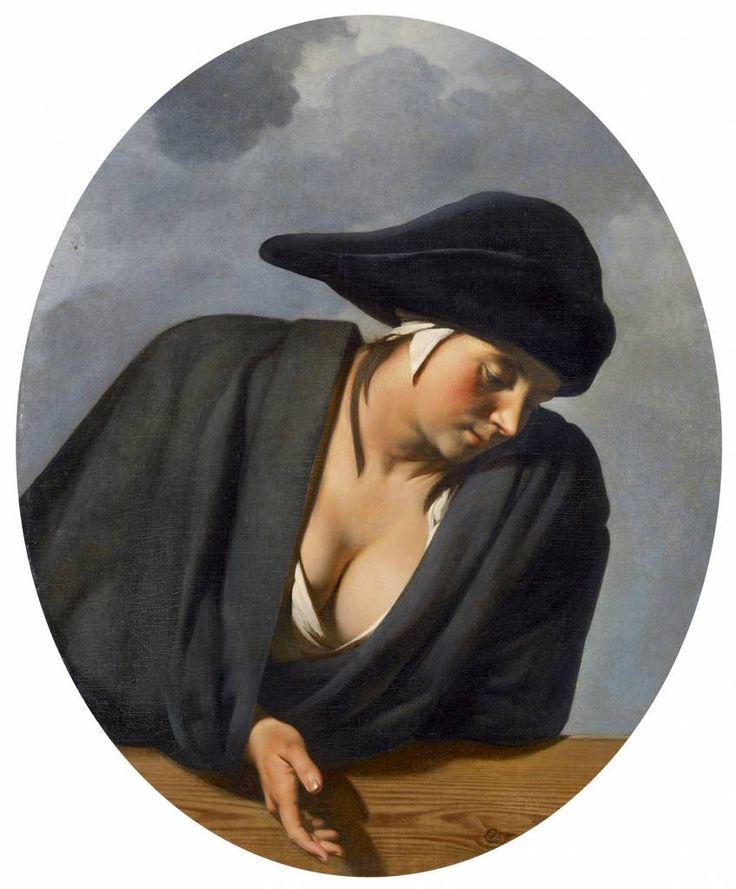 Ceasar van Everdingen (1617-1678), die zowel portretten schilderde als mythologieën, behoorde in zijn tijd, tot de meest gewaardeerde kunstenaars van de Republiek. Toch voorkwam dat niet dat hij na zijn dood snel werd vergeten. Te Frans waarschijnlijk. Te uitgesproken classicistisch vermoedelijk ook. Portret van een jonge vrouw,